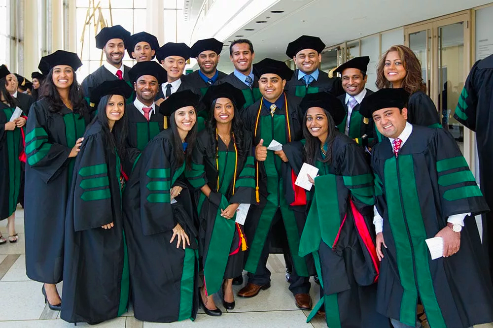 St. George's University graduates at Lincoln Center